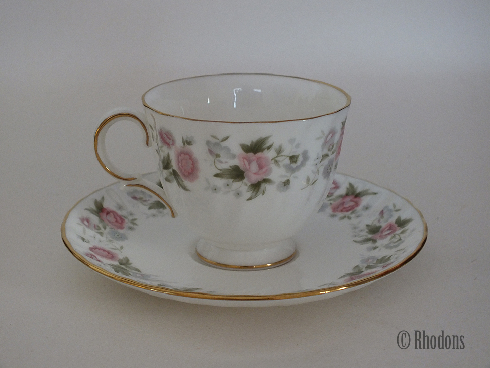 Minton Spring Bouquet Coffee Cup And Saucer