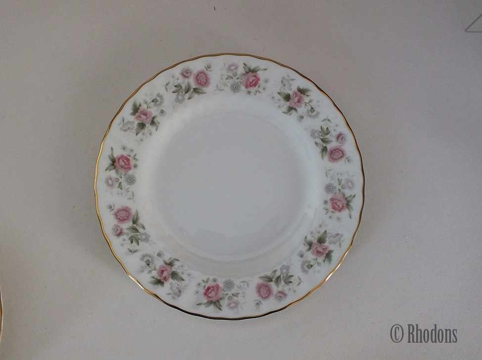 Minton Spring Bouquet Side Plates, Bread & Butter Plates. Set of 6