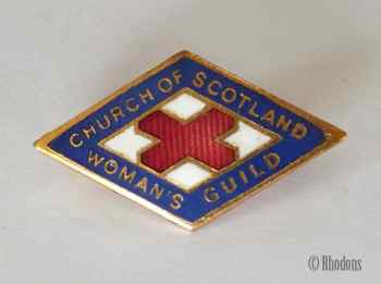 Church Of Scotland Womans Guild Pin Badge