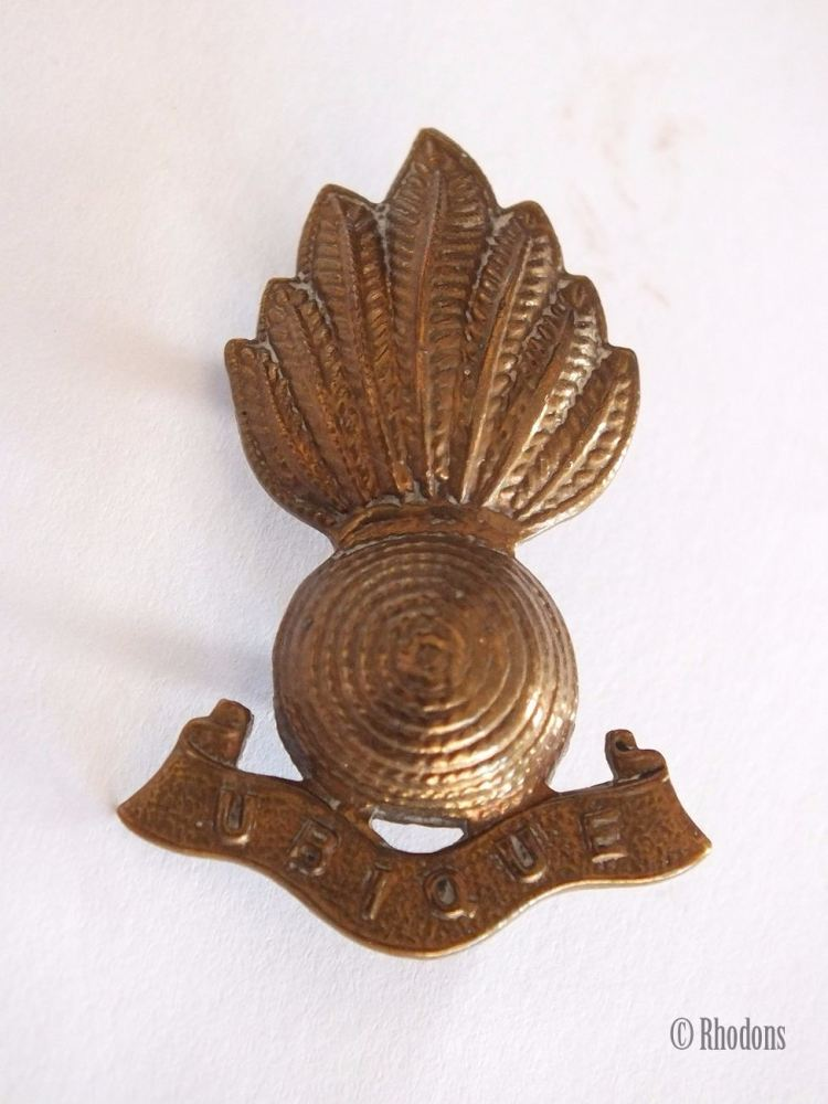 Royal Artillery Ubique Collar Badge