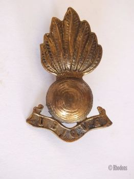 Royal Engineers Corps Ubique Collar Badge
