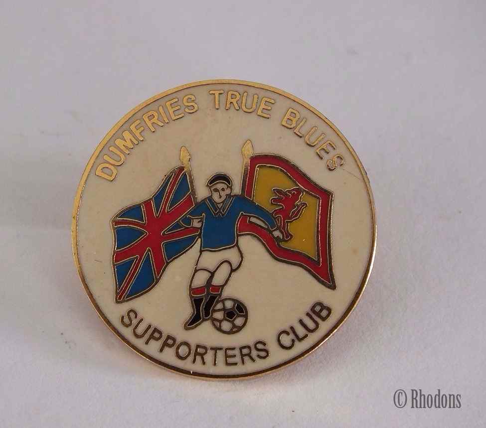 Glasgow Rangers F C - Dumfries True Blues Football Club Supporters Badge