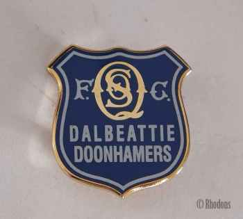 Queen Of The South F C,  Dalbeattie Doonhammers Pin Badge