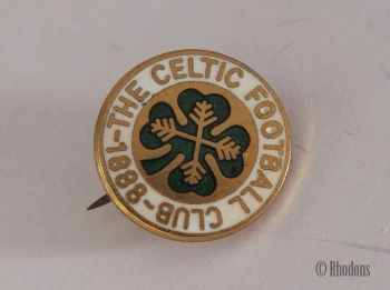 Celtic Football Club 1888, Supporters Club Enamel Lapel Pin Badge