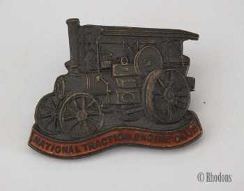 National Traction Engine Club Badge