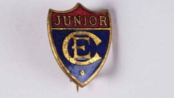 Junior Church of England Enamel Lapel Pin Badge