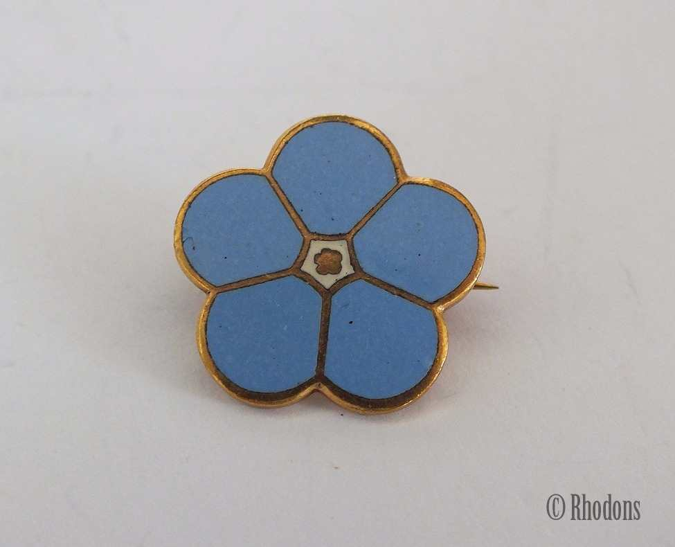 Masonic Forget Me Not Lapel Pin Badge Pin Badge