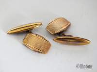 Cufflinks,  Vintage Gents Art Deco Design