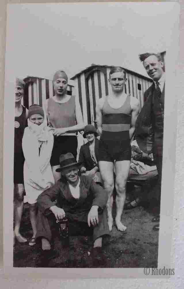 Family Group, Beach Boys & Beach Huts - c1920/30s