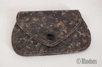 Snakeskin Purse / Coin Purse