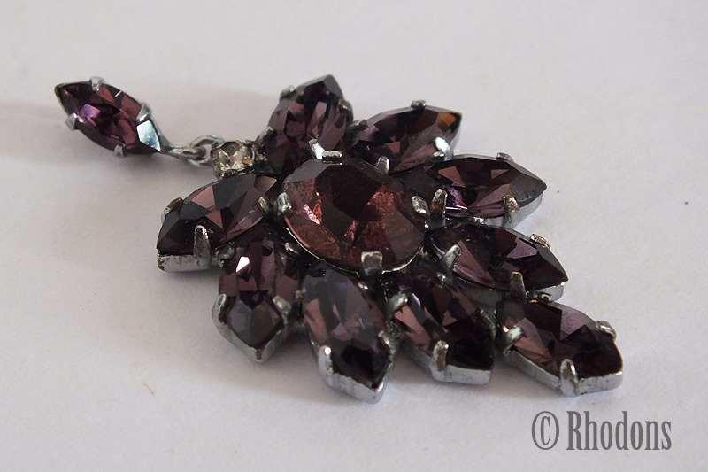 Rhinestone Necklace Pendant