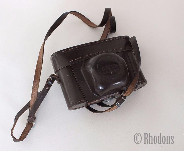 Leather Case For Vintage Ilford Sporti Roll Film Camera, Circa 1960/70s