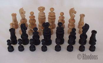 French Regence Pattern Chessmen, 83mm King