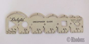 Delyta Dressmaker Guide / Sewing Tool