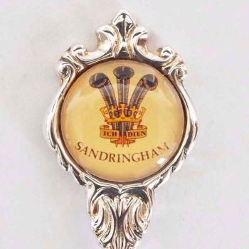 Sandringham House, Stuart Silver Plate Souvenir Spoon