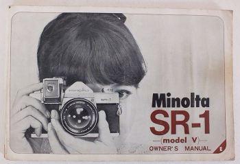 Minolta SR-1 Model V 35mm Camera User Manual
