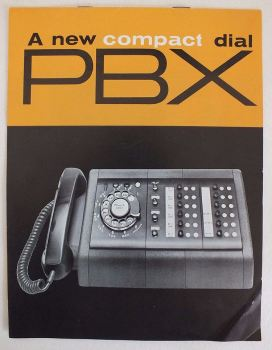 Bell Telephone System Compact Dial PBX Advertising Pamphlet