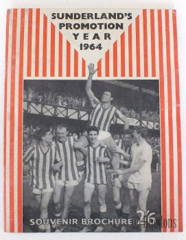Sunderlands Promotion Year 1964, Souvenir Booklet