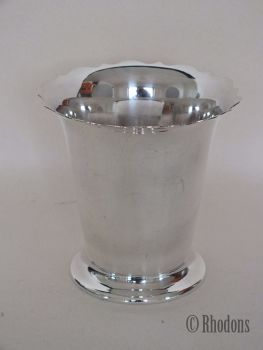 Vintage Silverplate Vase, Table Decoration, Early 1900s