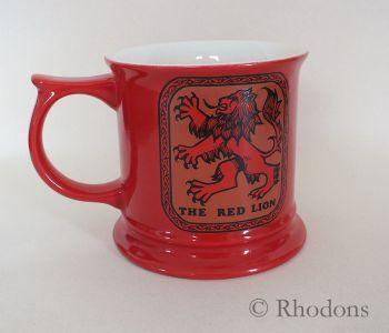 Carltonware Advertising & Promotional Beer Tankard, The Red Lion