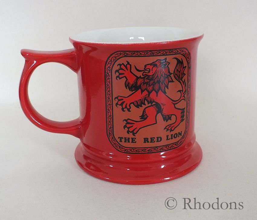 Carltonware Advertising & Promotional Beer Tankard, The Red Lion
