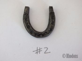 Miniature Blacksmith Forged Lucky Horseshoe (Lot #2)