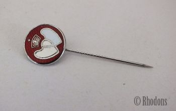 Vintage UK Blood Donor Stick Pin, Silver Level