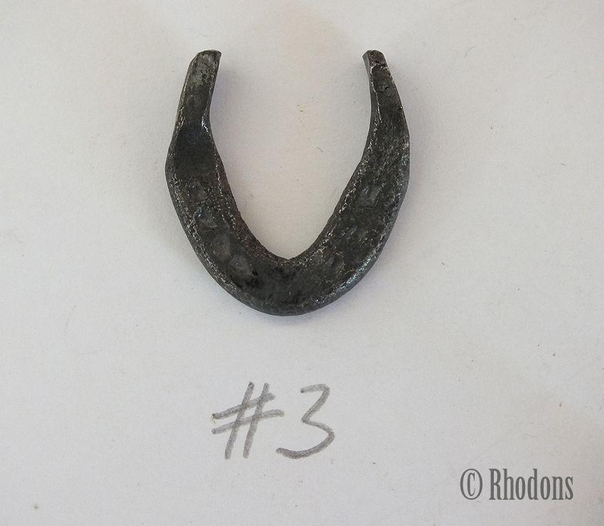 Miniature Blacksmith Forged Lucky Horseshoe (Lot #3)