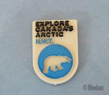 Explore Canada Arctic NWT Lapel Pin Badge