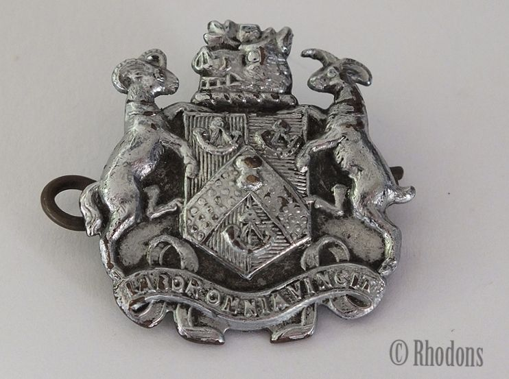 Bus Driver Cap Badge, Bradford City & County Borough Council