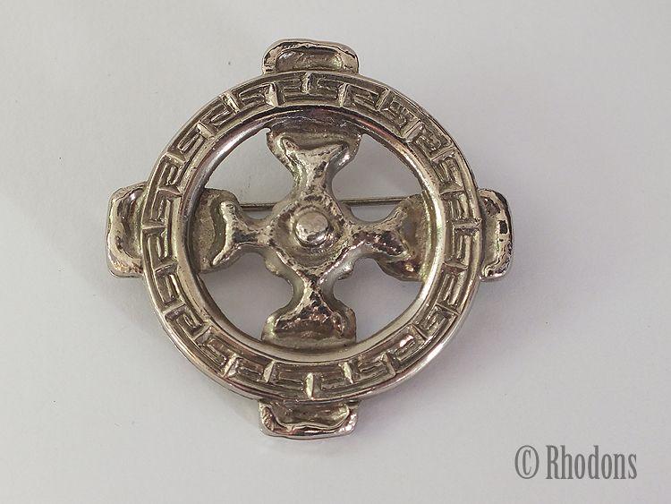 Miracle Celtic Cross Brooch