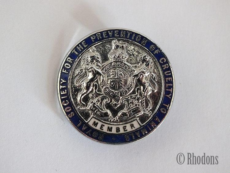 RSPCA Member Badge, Gaunt, London