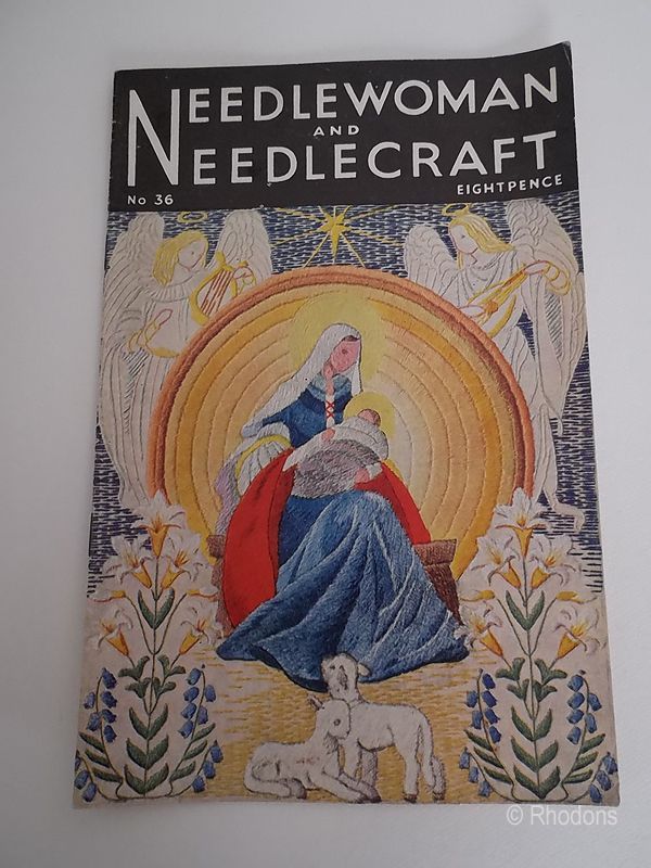 1940s Needlewoman and Needlecraft Magazine No.36, Wartime Crafts