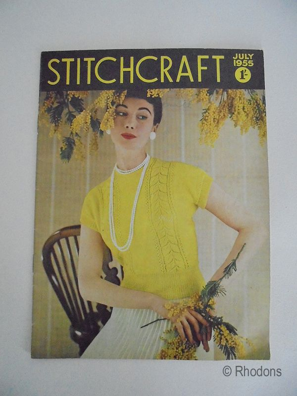 Stitchcraft Magazine, July 1955 Edition