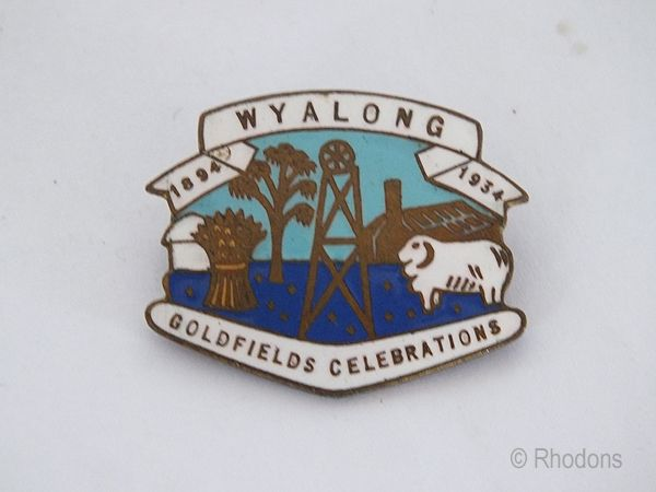 Australian Goldfields, Wyalong 40 Years Celebrations 1894 to 1934