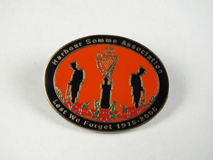 Harbour Somme Association 1916-2006 Badge