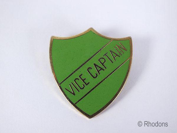 Vice Captain Shield Badge, Green