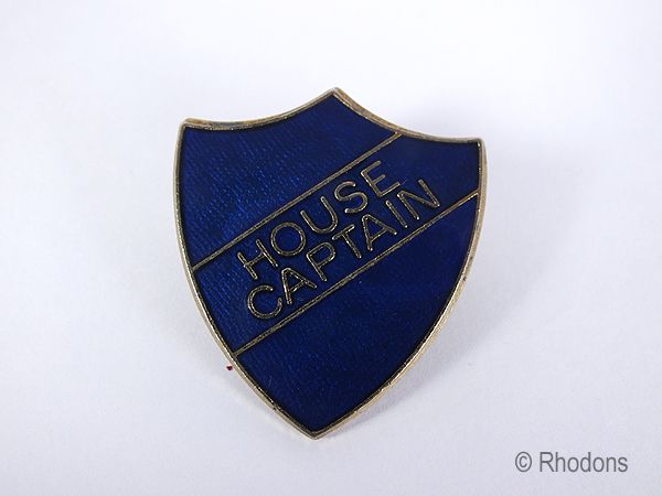 School Uniform House Captain Shield Badge