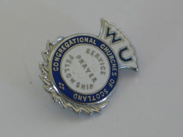 Congregational Churches Of Scotland Women's Union Enamel Badge