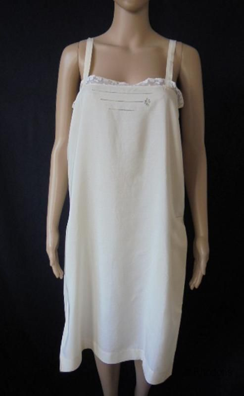 Silk & Lace Negligee, Circa 1920s Flapper