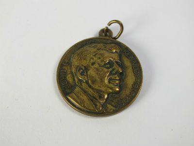 John F Kennedy & Pope John XXIII Bronze Medal, 1963