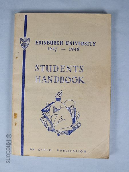 Edinburgh University Students Handbook 1947-1948