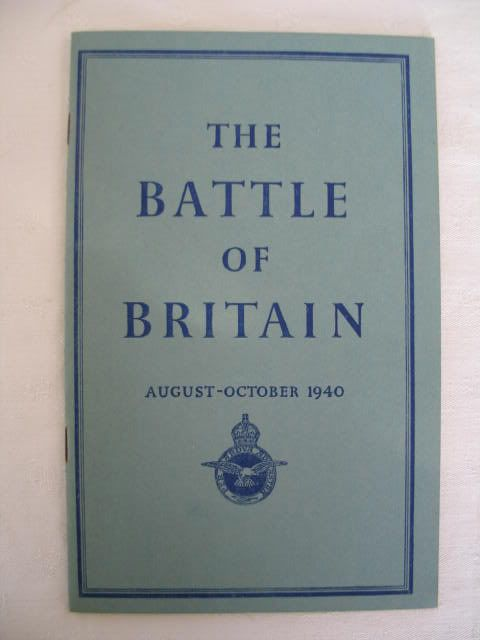 The Battle Of Britain, August to October 1940. Wartime Ephemera, WWII