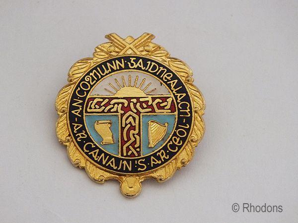 The Gaelic Association of Scotland (An Comunn Gàidhealach) Badge, 1960s