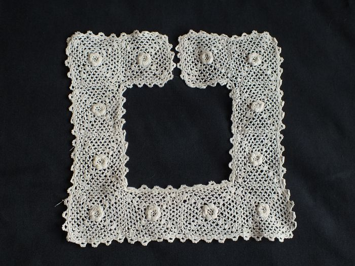Irish Lace Collar, Victorian, Edwardian Era