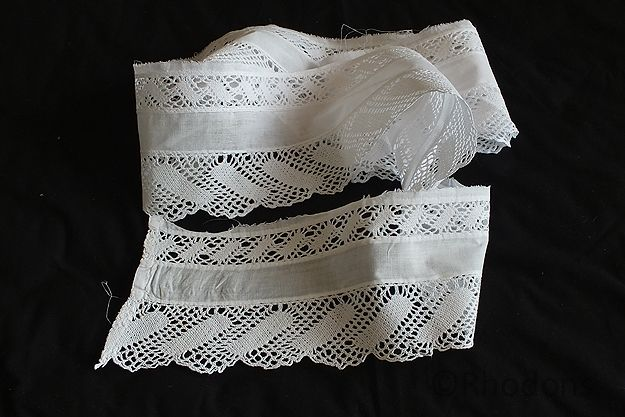Antique Handmade Lace Trim Lot