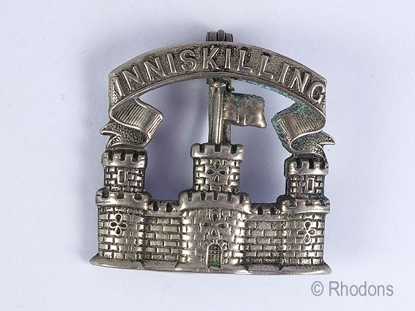Royal Inniskilling Fusiliers Cap Badge Sweetheart Brooch. Circa 1920/30s