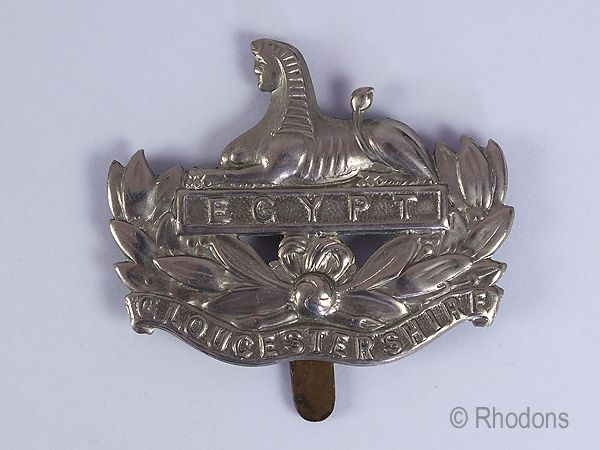 Gloucestershire Regiment Cap Badge.