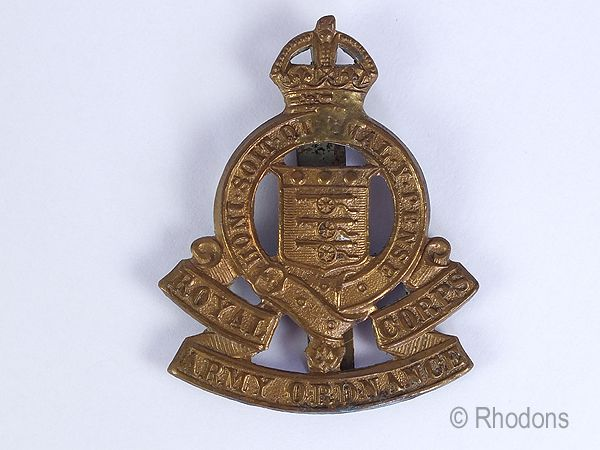 Royal Ordnance Corps Regimental Cap Badge