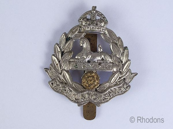 East Lancashire Regimental Cap Badge